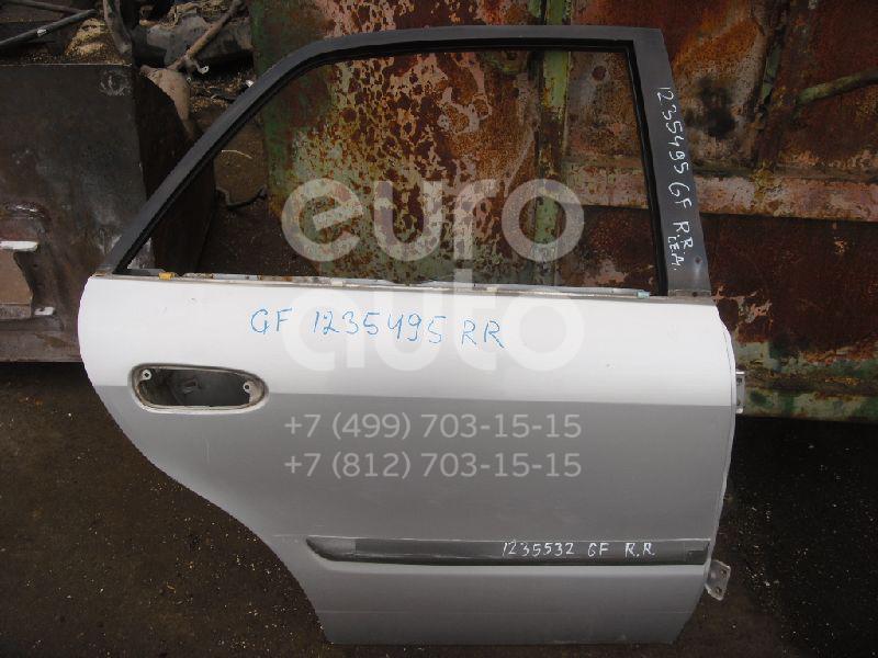 Дверь задняя правая для Mazda 626 (GF) 1997-2001 - Фото №1