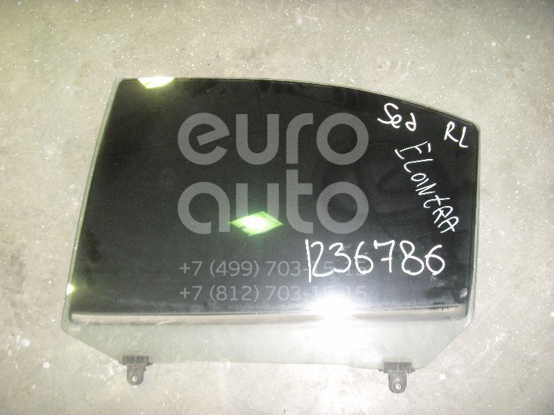 Стекло двери задней левой для Hyundai Elantra 2000-2005 - Фото №1