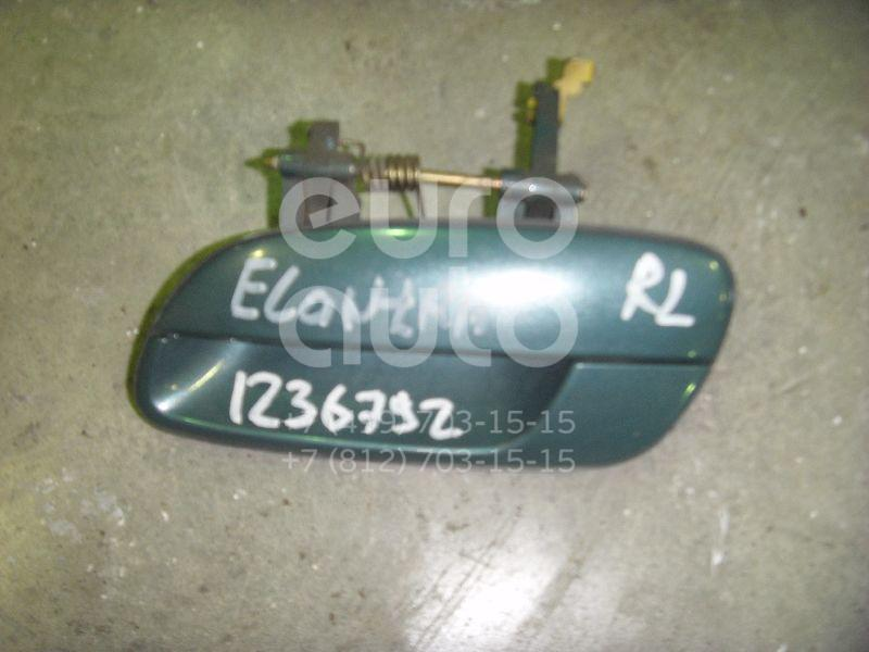 Ручка двери задней наружная левая для Hyundai Elantra 2000-2005 - Фото №1