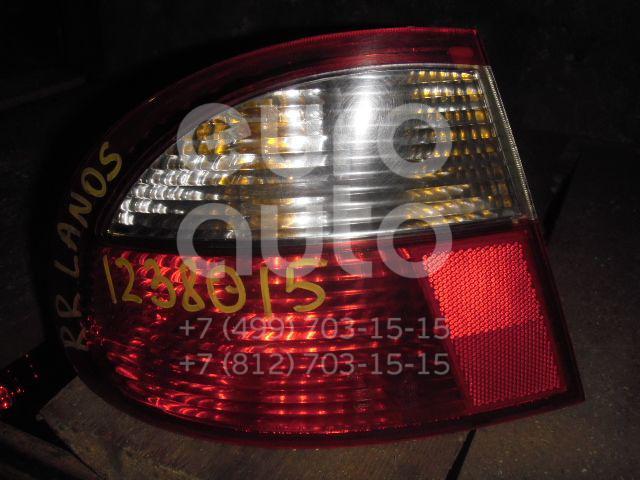 Фонарь задний наружный правый для Daewoo Lanos 1997-2009 - Фото №1