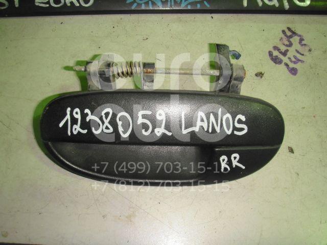Ручка двери задней наружная левая для Daewoo Lanos 1997-2009 - Фото №1
