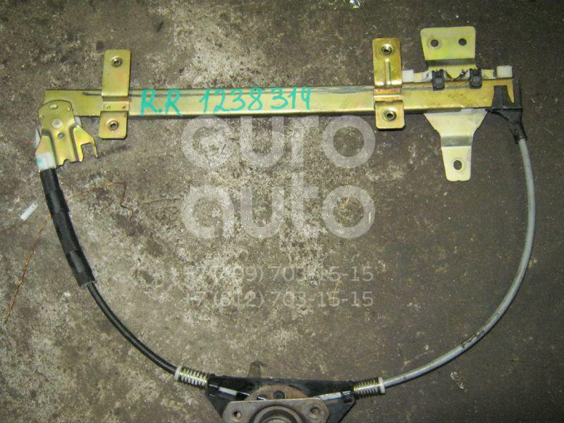 Стеклоподъемник механ. задний правый для Nissan Terrano II (R20) 1993-2006 - Фото №1