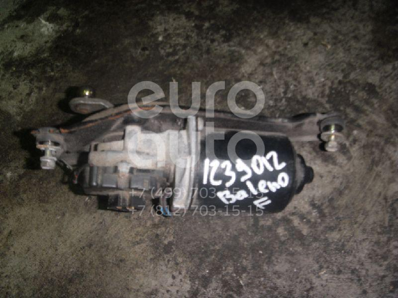 Моторчик стеклоочистителя передний для Suzuki Baleno 1995-1998 - Фото №1