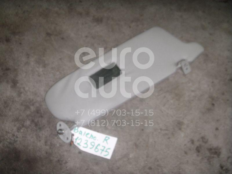 Козырек солнцезащитный (внутри) для Suzuki Baleno 1995-1998 - Фото №1