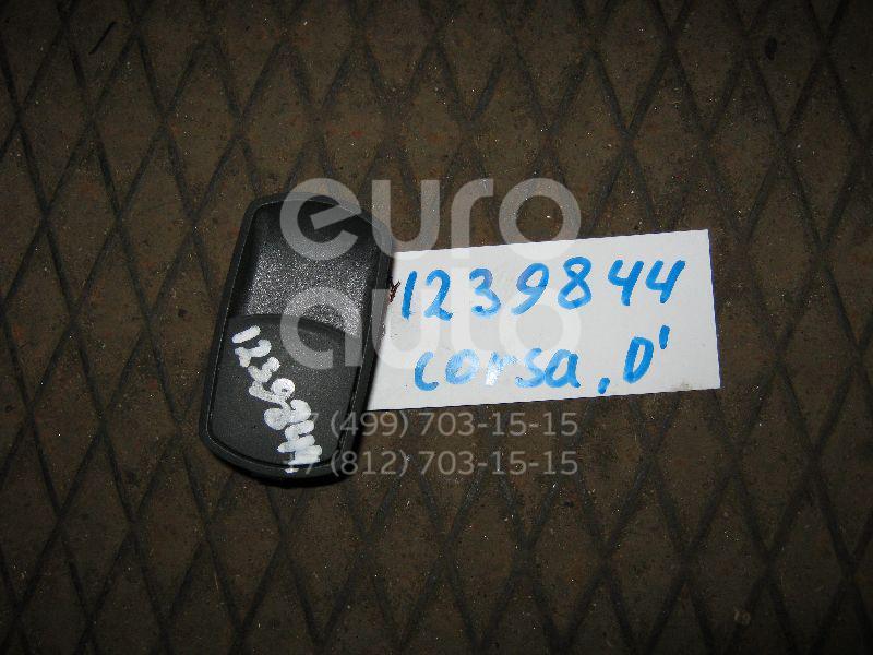 Кнопка стеклоподъемника для Opel Corsa D 2006> - Фото №1