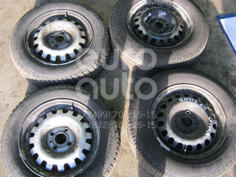 Диск колесный железо для Opel Corsa D 2006-2015;Vectra B 1995-1999;Astra G 1998-2005 - Фото №1