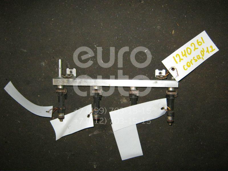 Рейка топливная (рампа) для Opel Corsa D 2006-2015;Astra G 1998-2005;Tigra 1994-2000;Agila A 2000-2008;Astra H / Family 2004-2015;Meriva 2003-2010;Corsa C 2000-2006 - Фото №1