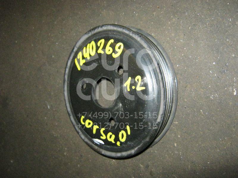 Шкив водяного насоса (помпы) для Opel Corsa D 2006>;Astra G 1998-2005;Corsa B 1993-2000;Astra H / Family 2004>;Meriva 2003-2010;Zafira (F75) 1999-2005;Corsa C 2000-2006;Meriva B 2010> - Фото №1