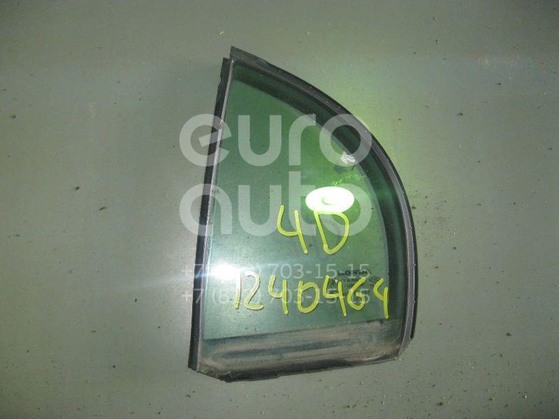 Стекло двери задней левой (форточка) для Honda Civic 4D 2006-2012 - Фото №1