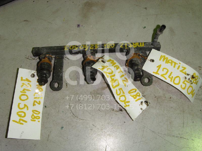 Форсунка инжекторная электрическая для Daewoo Matiz 2001> - Фото №1
