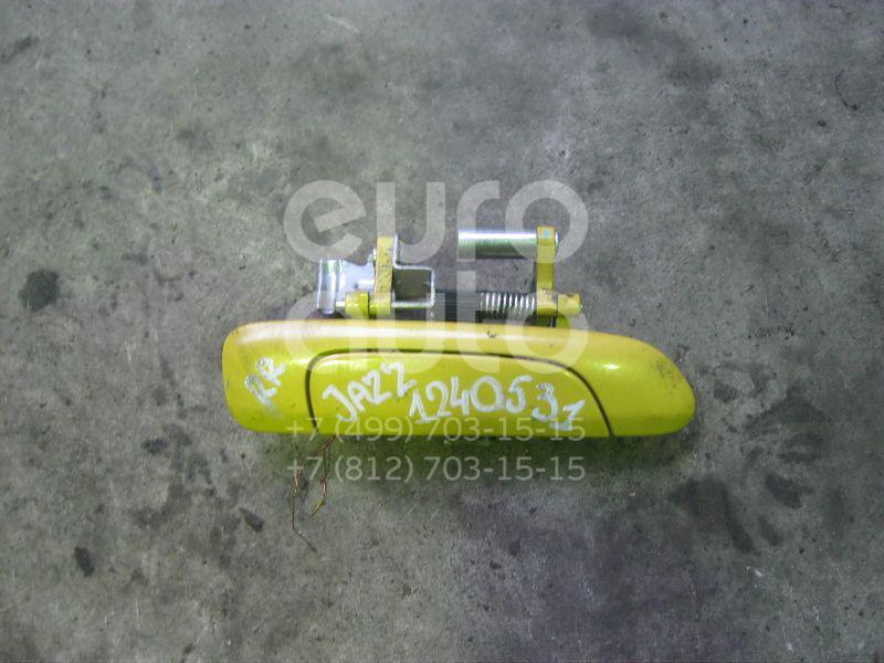 Ручка двери задней наружная правая для Honda Jazz 2002-2008 - Фото №1