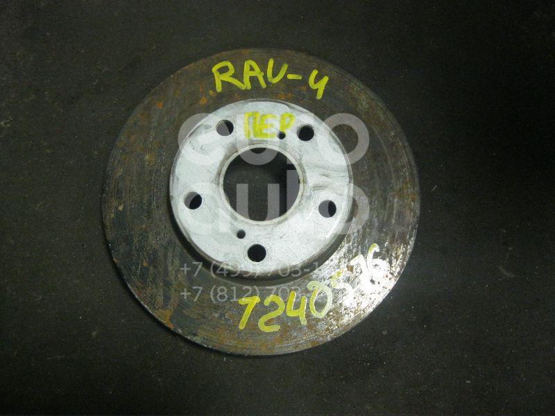 Диск тормозной передний вентилируемый для Toyota RAV 4 2000-2005 - Фото №1