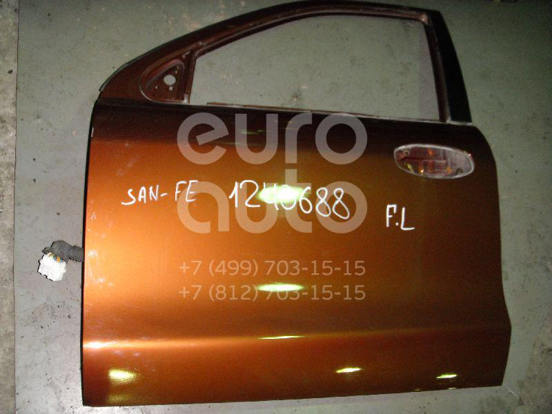 Дверь передняя левая для Hyundai Santa Fe (SM) 2000-2005 - Фото №1