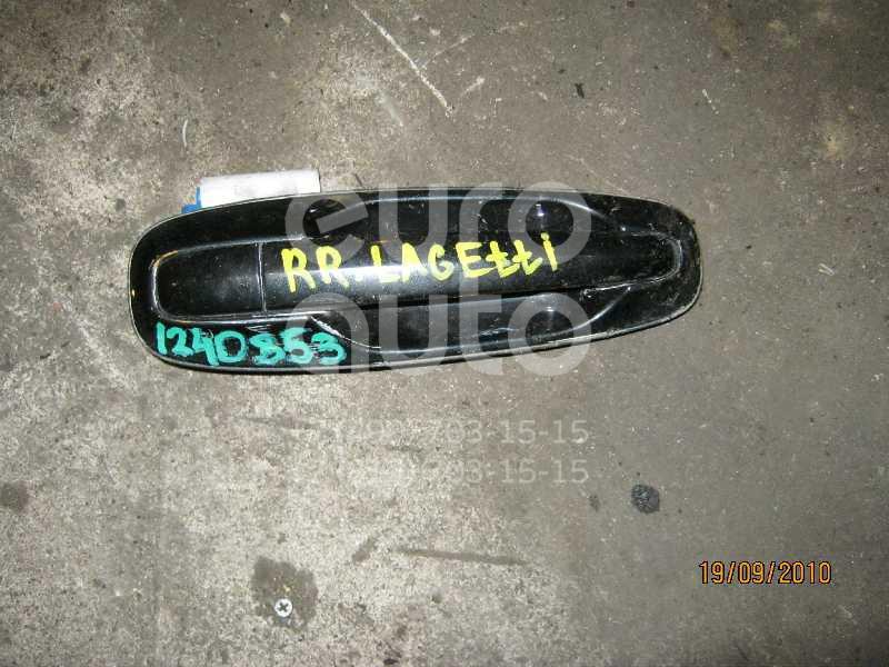 Ручка двери задней наружная правая для Daewoo Lacetti 2003>;Gentra II 2013> - Фото №1