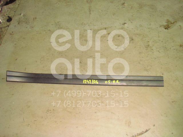Накладка порога (внутренняя) для BMW X5 E53 2000-2007 - Фото №1