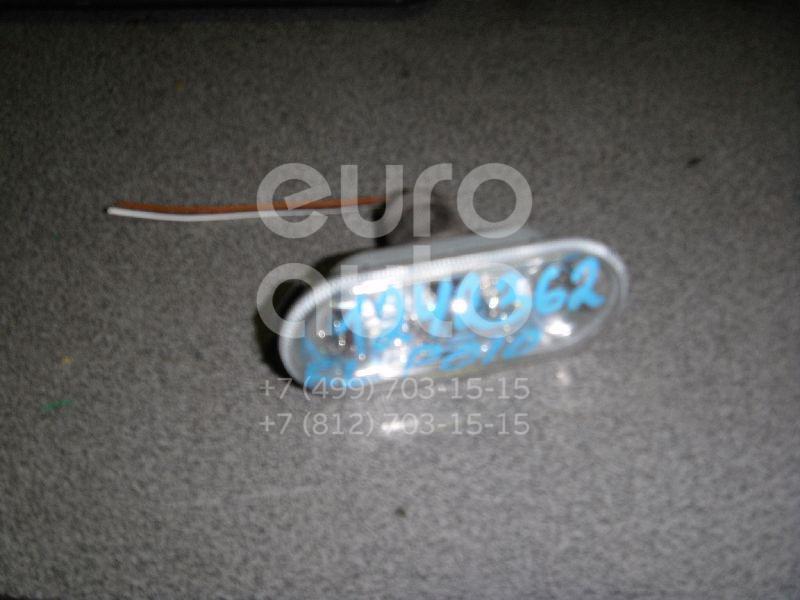 Повторитель на крыло левый белый для VW Polo 2001-2009 - Фото №1