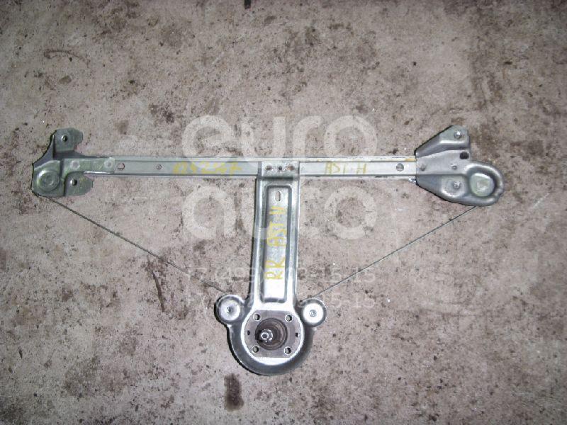 Стеклоподъемник механ. задний правый для Opel Astra H / Family 2004-2015 - Фото №1