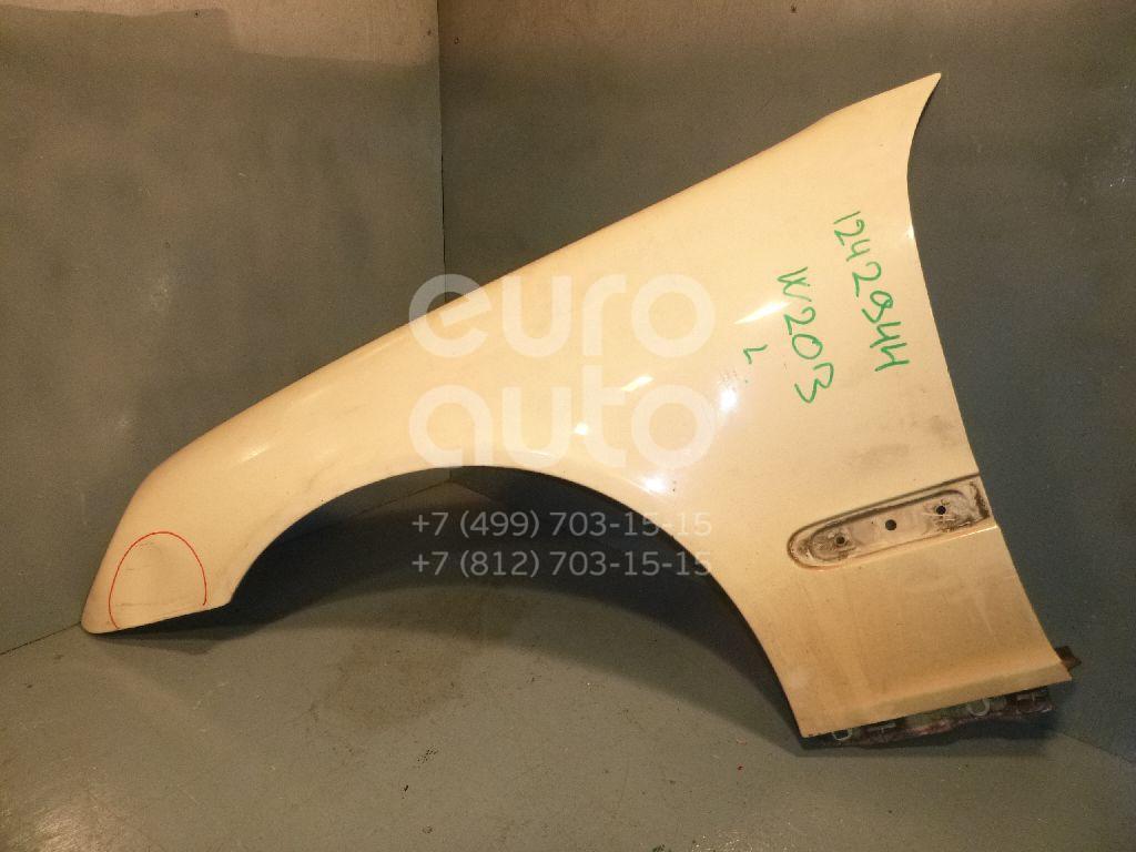 Крыло переднее левое для Mercedes Benz W203 2000-2006 - Фото №1