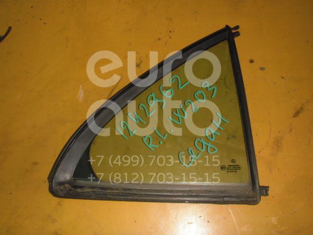 Стекло двери задней правой (форточка) для Mercedes Benz W203 2000-2006 - Фото №1