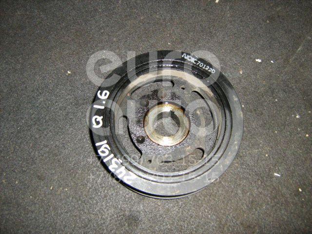 Шкив коленвала для Nissan Qashqai (J10) 2006-2014;Note (E11) 2006-2013;Micra (K12E) 2002>;Tiida (C11) 2007>;Qashqai+2 (JJ10) 2008-2014 - Фото №1