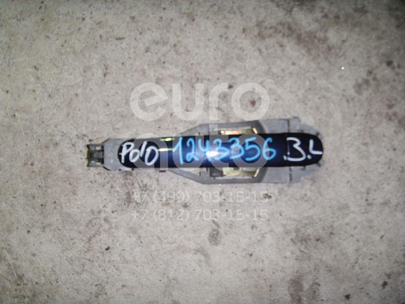 Ручка двери задней наружная левая для VW Polo 2001-2009 - Фото №1