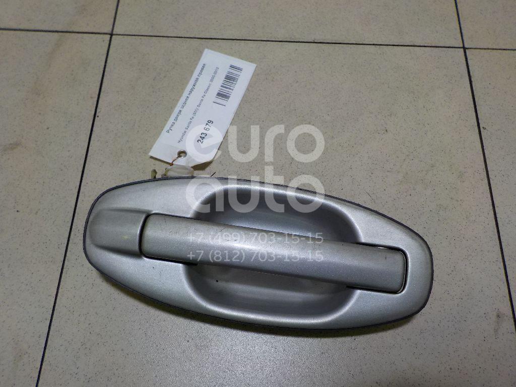 Ручка двери задней наружная правая для Hyundai Santa Fe (SM)/ Santa Fe Classic 2000-2012 - Фото №1