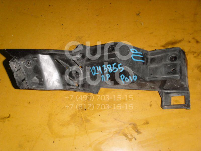 Направляющая заднего бампера правая для VW Polo 2001-2009;Polo (HB) 2009> - Фото №1