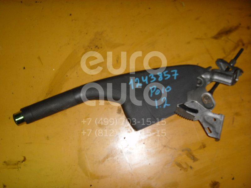Рычаг стояночного тормоза для VW Polo 2001-2009;Polo (HB) 2009>;Polo (Sed RUS) 2011>;Fox 2005-2011 - Фото №1