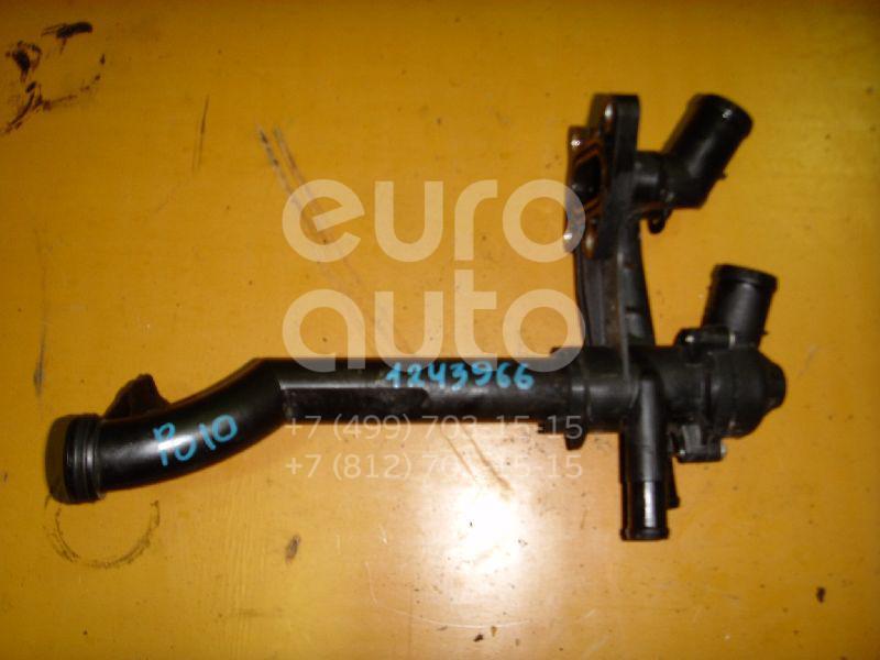 Корпус термостата для VW,Skoda,Seat Polo 2001-2009;Fabia 1999-2007;Ibiza V 2008>;Fabia 2007-2015;Roomster 2006-2015;Cordoba 2002-2008;Ibiza IV 2002-2008;Polo (HB) 2009>;Fox 2005-2011 - Фото №1