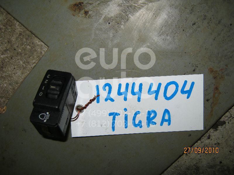 Кнопка корректора фар для Opel Tigra 1994-2000;Corsa B 1993-2000;Agila A 2000-2008 - Фото №1