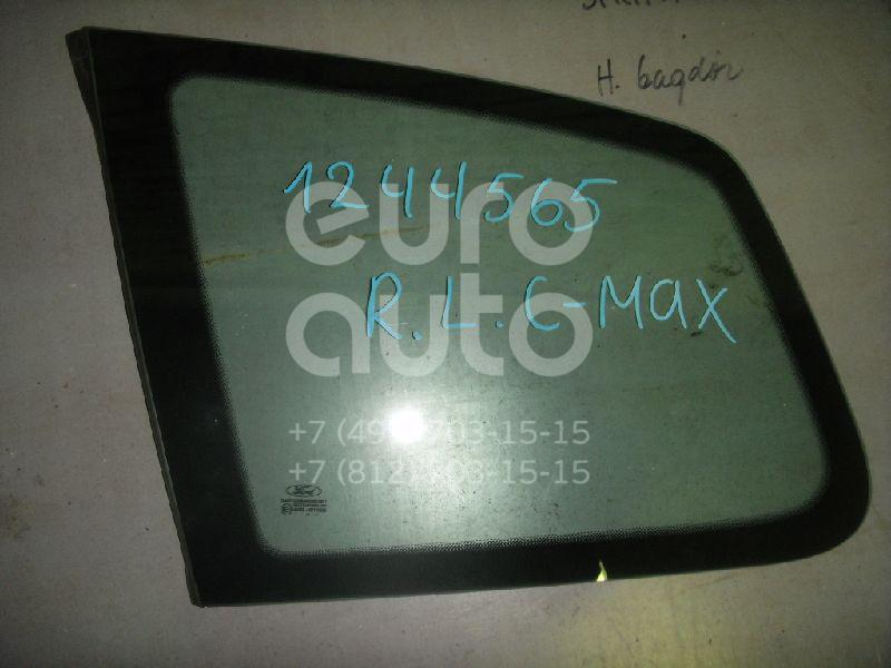 Стекло кузовное глухое левое для Ford C-MAX 2003-2011 - Фото №1