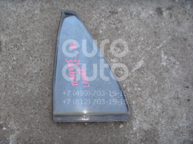 Стекло двери задней левой (форточка) для Mitsubishi Lancer (CB) 1992-2000 - Фото №1