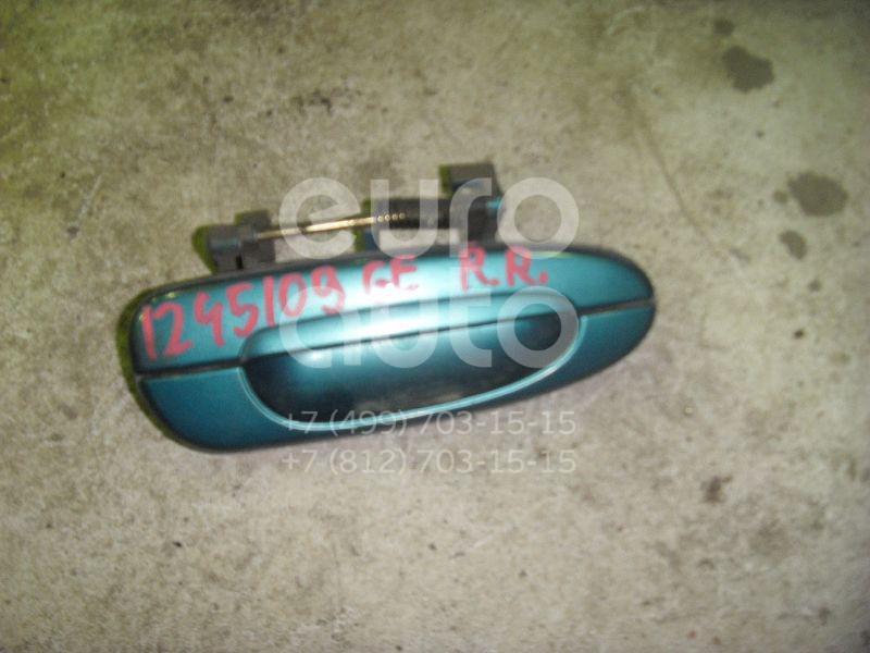 Ручка двери задней наружная правая для Mazda 626 (GE) 1992-1997 - Фото №1