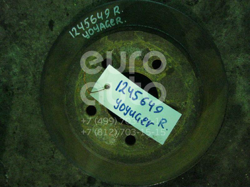 Диск тормозной задний для Chrysler Voyager/Caravan (RG) 2001-2008;Voyager/Caravan 1996-2001 - Фото №1