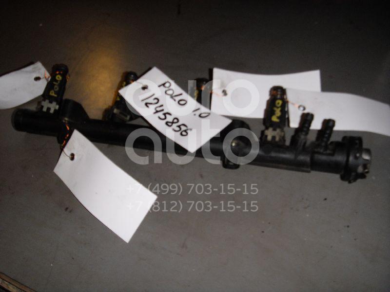 Форсунка инжекторная электрическая для VW,Seat Polo 1994-1999;Golf III/Vento 1991-1997;Caddy II 1995-2004;Polo Classic 1995-2002;Ibiza II 1996-1999 - Фото №1