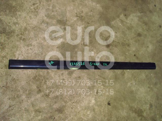 Молдинг передней правой двери для Ford S-MAX 2006>;Galaxy 2006> - Фото №1