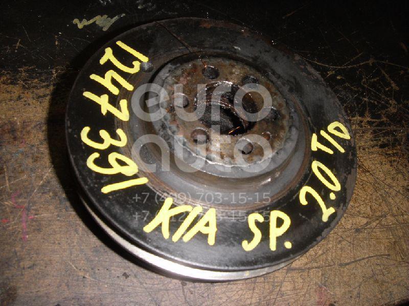 Шкив коленвала для Kia Sportage 1994-2006 - Фото №1