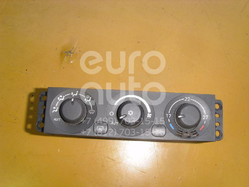 Блок управления климатической установкой для Mitsubishi Pajero/Montero (V6, V7) 2000-2006 - Фото №1