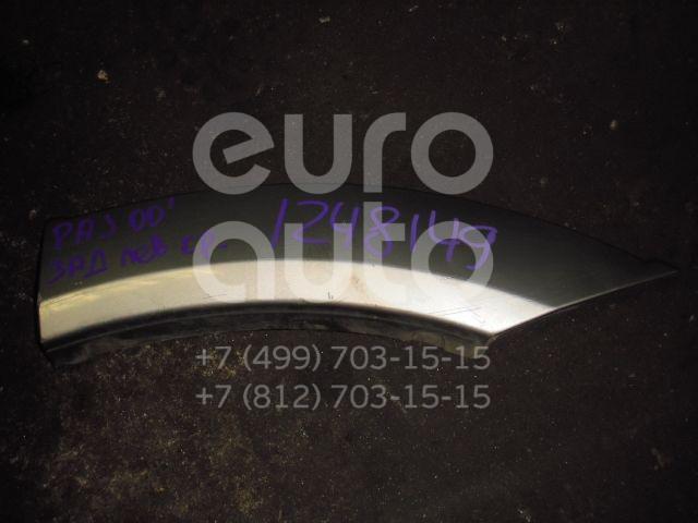 Накладка заднего крыла левого для Mitsubishi Pajero/Montero III (V6, V7) 2000-2006 - Фото №1