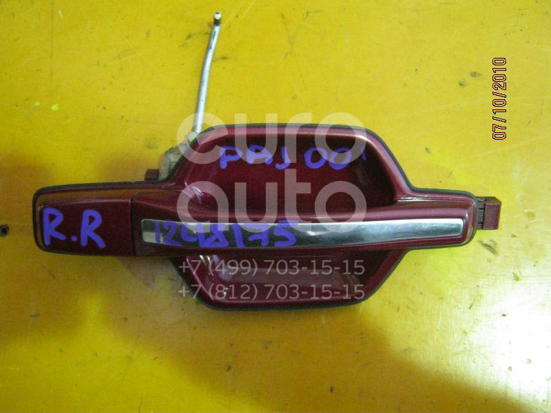 Ручка двери задней наружная правая для Mitsubishi Pajero/Montero III (V6, V7) 2000-2006 - Фото №1