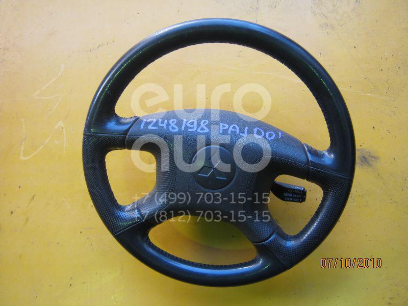 Рулевое колесо с AIR BAG для Mitsubishi Pajero/Montero III (V6, V7) 2000-2006 - Фото №1