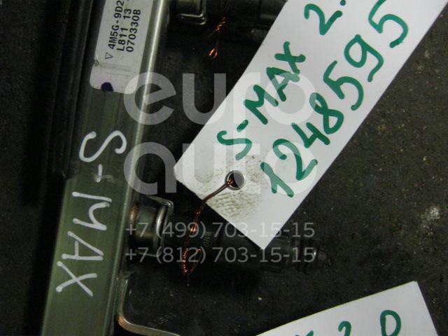 Форсунка инжекторная электрическая для Ford,Mazda,Volvo S-MAX 2006-2015;Focus II 2005-2008;Fusion 2002-2012;C-MAX 2003-2011;Mondeo III 2000-2007;Mazda 5 (CR) 2005-2010;MPV II (LW) 1999-2006;323 (BJ) 1998-2003;Mazda 6 (GG) 2002-2007;Mazda 3 (BK) 2002-2009;Fiesta 2001-2008;S40 2004-2012 - Фото №1