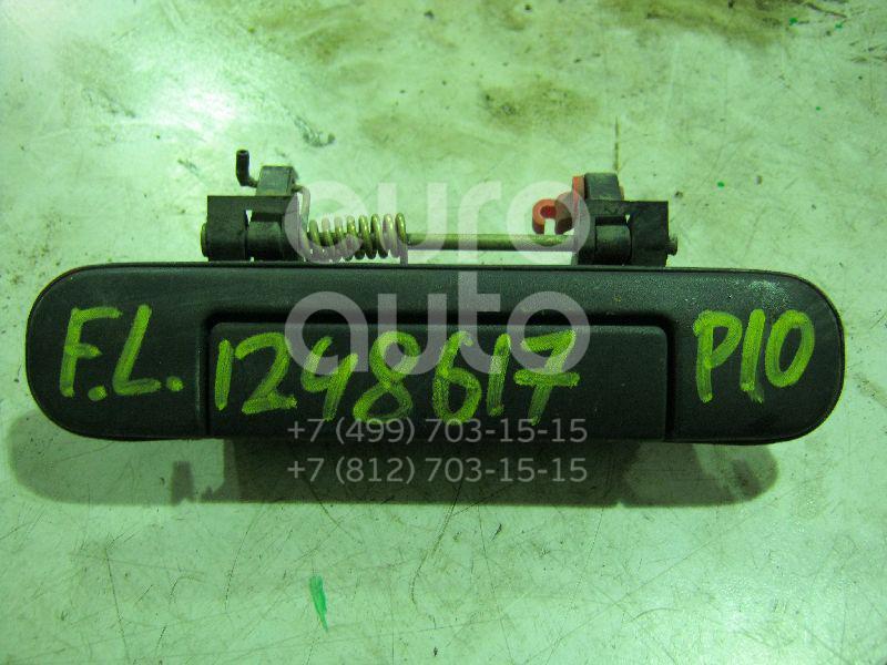 Ручка двери передней наружная левая для Nissan Primera P10E 1990-1996 - Фото №1