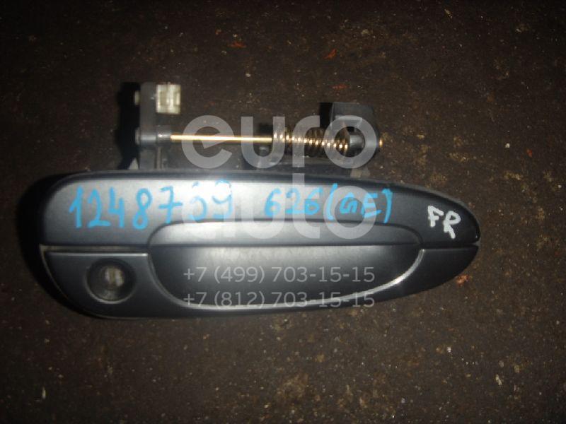 Ручка двери передней наружная правая для Mazda 626 (GE) 1992-1997 - Фото №1