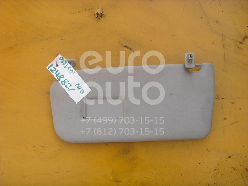 Козырек солнцезащитный (внутри) для Mitsubishi Pajero/Montero III (V6, V7) 2000-2006 - Фото №1