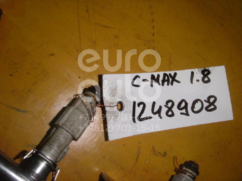 Форсунка инжекторная электрическая для Ford,Mazda C-MAX 2003-2011;Focus II 2005-2008;Mondeo III 2000-2007;Mazda 5 (CR) 2005-2010;Mazda 6 (GG) 2002-2007;Mazda 3 (BK) 2002-2009 - Фото №1