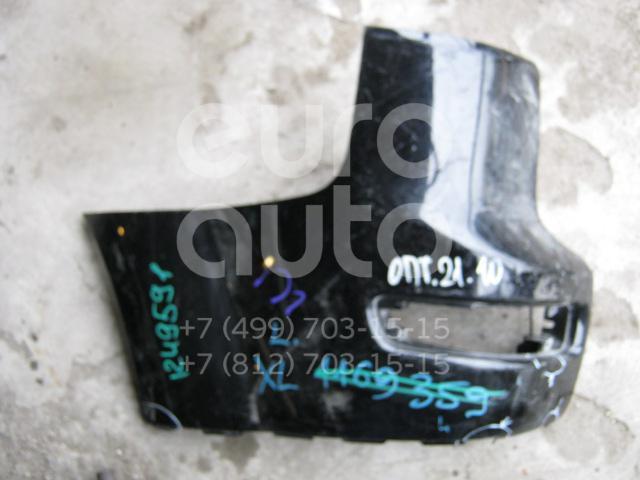 Накладка заднего бампера левая для Mitsubishi Outlander XL (CW) 2006-2012 - Фото №1