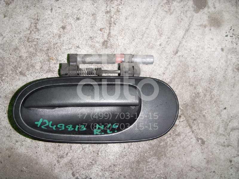 Ручка двери задней наружная левая для Nissan Almera N16 2000-2006 - Фото №1
