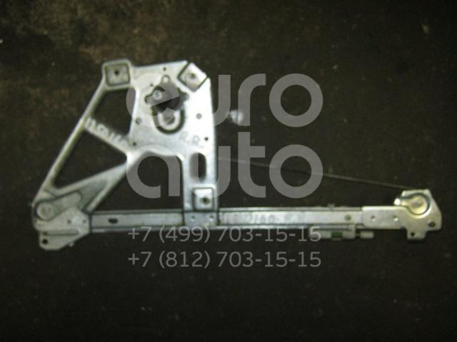 Стеклоподъемник механ. задний правый для Audi A6 [C4] 1994-1997;100 [C4] 1991-1994 - Фото №1