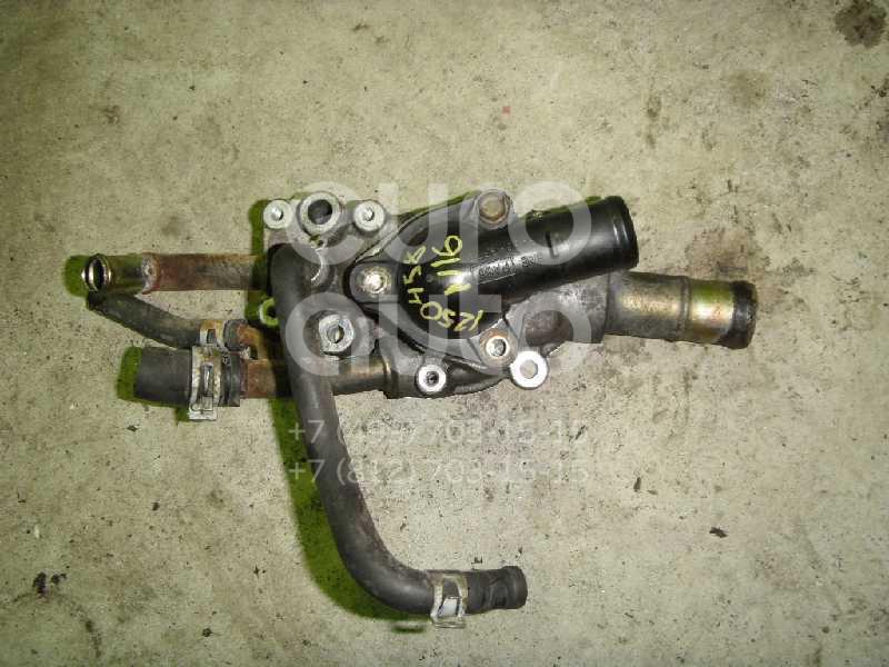 Корпус термостата для Nissan Almera N16 2000-2006;Primera WP11E 1998-2001;Primera P11E 1996-2002;Almera Tino 2000-2006 - Фото №1